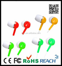 Jack shaped earphone with cheap price bulk buy from China