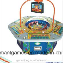 High quality electronic lottery gambling machine/ casino machine /lucky jackpot