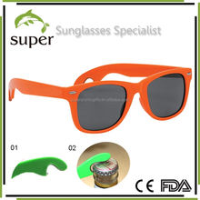 New Party Must Have Orange Sunglasses Pop and Beer Bottle Opener Sunglasses