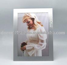 factory direct aluminum photo frame with velvet back