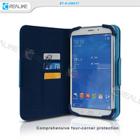 100% Brand New Luxury Slim Silk Fold Leather Cover Case Stand For Samsung Galaxy Tab S 8.4 10.5