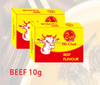 10G*60PCS*24BOXES/CTN MUSLIM HALAL SEASONING BEEF CUBE FOR AFRICA