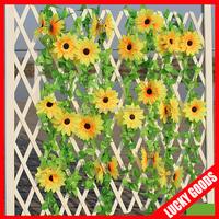 2015 popular sunflower decorative tree vine for sale