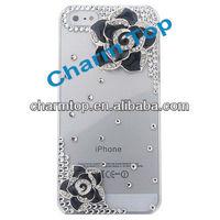 Flower Style Hard Bling Case For Apple iPhone 5 5G
