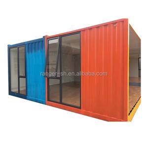 Nueva desarrollado fibra de vidrio de la casa prefabricada contenedor FRP casa cúpula