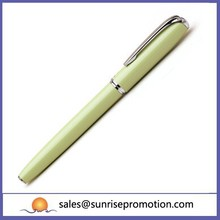 Charm Promotional Metal Yellow Ball Pen