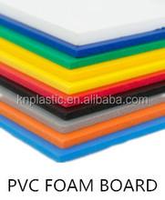 Guarantee full weight 3mm pvc foam sheet