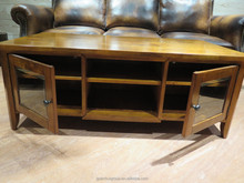 Hot selling CT0901 Solid wood coffee tables with chest of drawers