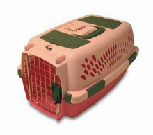 Portable cool transport pet cage