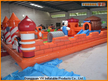 custom commercial inflatable bouncer obstacle course for kids