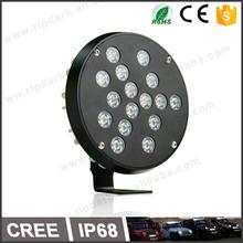 Special CNC'd Aluninum led worklight 24v cree led working light inspection lamp led