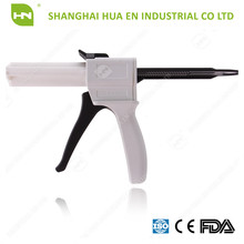 50ml 1:1 Dental Silicone Dispensing/Mixing/Impression/Dispenser Gun