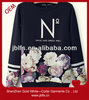 the latest printed sweater for women