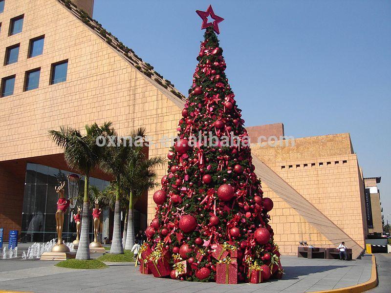 Exterior bola pvc personalizable colgando decoraci n - Arbol de navidad exterior ...