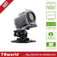 Super mini waterproof dv F22 sport camcorder with hd 720P 120 degree wide angle camera