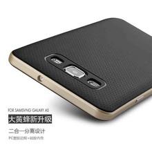 iPaky Hybrid Slim Armor bumper back Silicon cover case for Samsung A7
