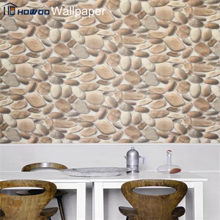 3d gris pierre de granit effet en relief papier peint pour. Black Bedroom Furniture Sets. Home Design Ideas