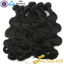 Human hair product large stocks 7A grade Virgin brazilian Hair
