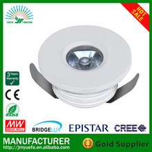2012 Hot sales! High Power 1W LED ceiling light Down light High Quality Super bright 100LM CE RoHS FCC 3 Years Warranty
