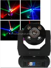 disco stage effects 10pcs rgbw led mini moving head quad color led beam