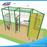 High quality steel structure sports equipment backyard rock climbing wall