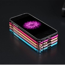 New design metal bumper Cases + thin clear TPU phone case for Iphone