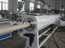 Automatic PVC pipe extrusion machine equipped with online belling machine