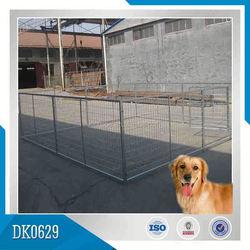 Nice Quality Galvanized Large Dog Kennel Wholesale