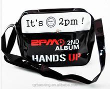 New design shiny Leather messenger bag men, messenger bag men, messenger bag