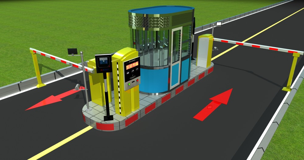Rfid And Ticket Dispenser Long Distance Car Access Control Parking ...