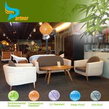 Cheap Outdoor Wicker Furniture Rattan Durable Classic Restaurant Sofa Set/ Outdoor Rattan Furniture Sofa for Restaurant