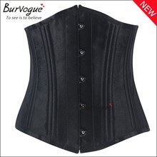 Guangzhou factory supply sexy corset lingerie full corset waist training double steel boned corset