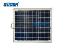 suoer poly Solar panel 25w 18v solar cell module