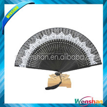 Classical design lace folding fans for wedding