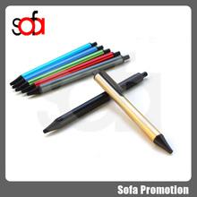 2015 new arrival hot sale promotion metal gel pen