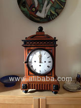 Viennese Table Antique Wooden Clock