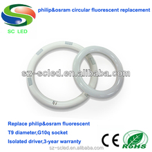 3 years warranty 225mm 14w t9 led circular tube light