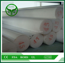 100% virgin high temperature high corrosion resistant PTFE Rod teflon bar