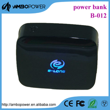 5000 mah backlit logo smartphones power bank