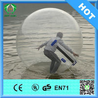 HI CE inflatable walk on water plastic ball