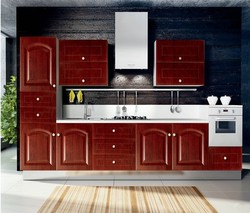 european style kitchen cabinet with PVC doors