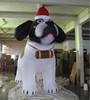 advertising Inflatable husky cartoon/animal/model giant husky