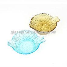 antique glass fruit bowls colored