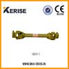 Agriculture machine tractor mounted pto shaft with clutch