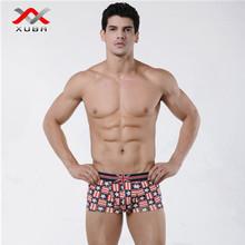 calidad mens ropa interior de alta para la ropa interior boxeadores masculinos XB-1211201-1
