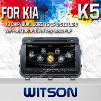 WITSON FOR KIA K5 2013 CAR STEREO WITH 1.6GHZ FREQUENCY 1080P 1G DDR RAM 8GB A8 DUAL CORE CHIPSET WIFI 3G