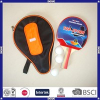 we produce pointed size and package table tennis racket