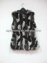 las señoras de la moda deinvierno de piel sintética chaqueta bolero