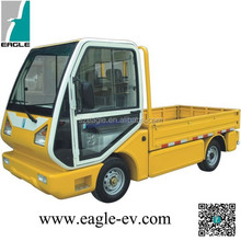 Electric utility truck, 1000kgs loading weight, closed cab