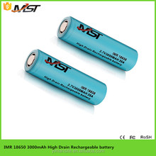 numerous in variety 18650 lithium ion battery , 3000 mAh 3.7v dependable performance Lithium Battery Cells